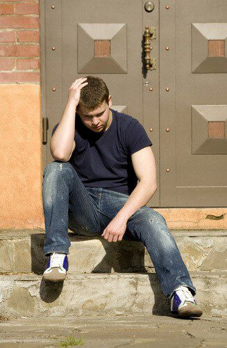 Man Locked-out-of-house