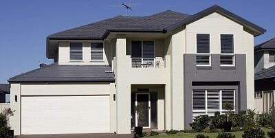 Two storey house small