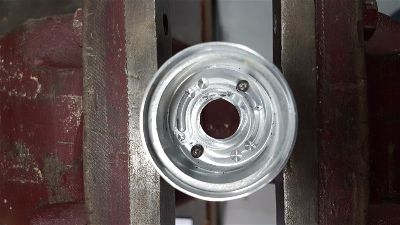 Repaired Ford Falcon Ignition Barrel