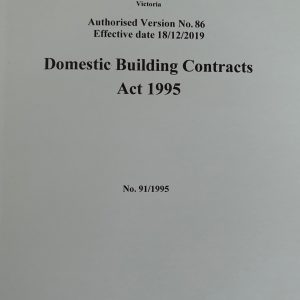 Domestic Building Contracts