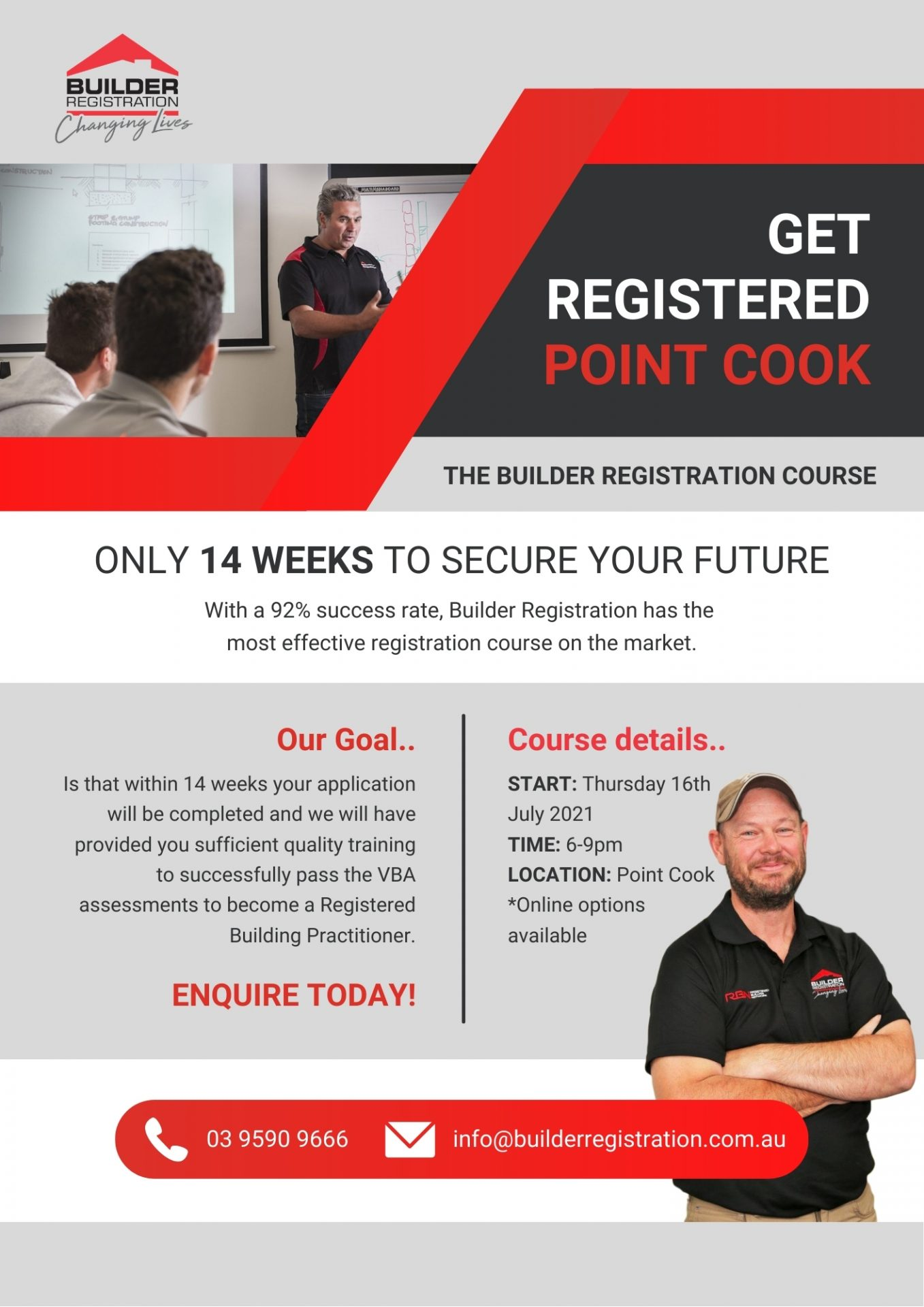 Point Cook 16th July Flyer
